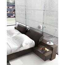 Cama 2 Plazas + Respaldo + 2 Mesas De Luz Dormitorio!!