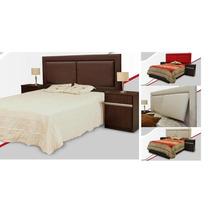 Juego Dormitorio - 1 Respaldo Reclinable Y 2 Mesitas De Luz.