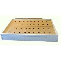Cama 2 Plazas Box Con 4 Cajones Para Colchon De 140 X 190