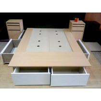 Cama Funcional 6 Cajones Color Blanco :: Madersic