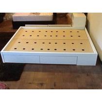 Box Sommier De Dos Plazas Con 4 O 6 Cajones