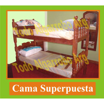 Cama Superpuesta Reina De Algarrobo, Cucheta, Marinera