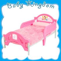Cama De Nena Personajes Disney Princesa Color Rosa. Nueva