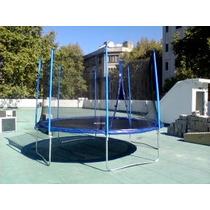 Cama Elástica 4,3mts Azul Athletickworks(usa) Extremefun