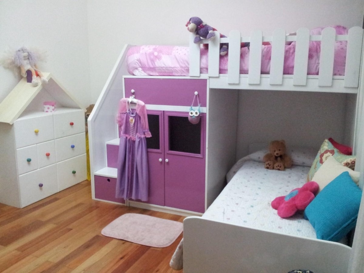 Camas infantiles dobles imagui - Dormitorios infantiles dobles ...