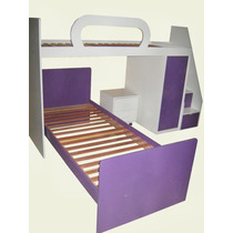 Dormitorio Infantil + Escalera Cajonera