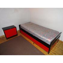 Juego De Dormitorio Infantil Laqueado (vte Lopez)