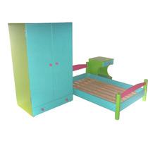 Juego De Dormitorio Infantil (para El Rincón De La Casita)