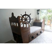Camas Infantiles,dormirjugando, Barco Pirata