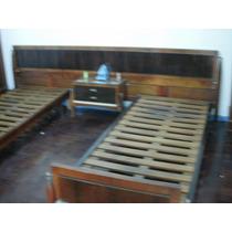 Juego De Dormitorio 2 Camas Mesa De Luz Comoda De 6 C Espejo
