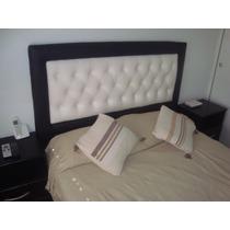 Respaldo De Sommier-cama Capitone Modelo Exclusivo