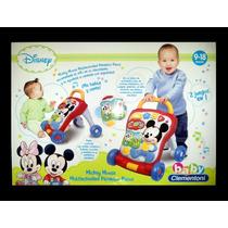 Disney Mickey Mouse Caminador C/luz,sonidos Baby Clementoni