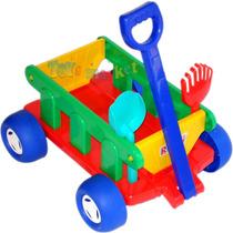 Wagon Carrito De Arrastre Infantil Andador Caminador Rondi