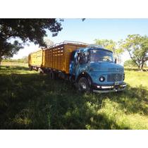 Camión Jaula Mercedes Benz 1114 Motor 1518