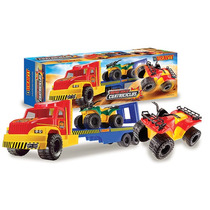 Camion Gigante De Juguete Con 2 Cuatriciclos Duravit 80 Cm