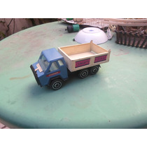 Gorgo Camion Volcador De Chapa