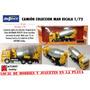 Camión Man Minuatura Escala 1/72 Coleccion Mezclador Cemento