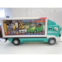Camion Choca Y Sigue Con Banner Giratorio Cambia Cartel
