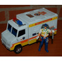Camioneta Ambulacia Rescue 58 A Friccion + Figura Exc!!!