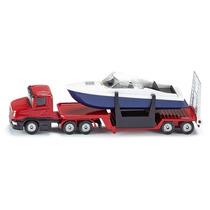 Siku Serie 1613 - Camión Con Lancha E1:55 - Coleccion