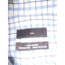 Camisa Manga Larga Zara Impecable!