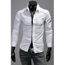 Camisa De Hombre Entallada