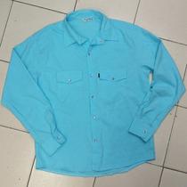 Camisa Manga Larga Tipo Bambula * Grande * Oferta * Detalle