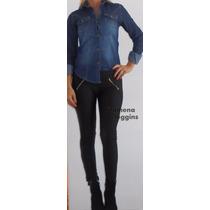 Camisa Jeans-mujer-nevadas-batik-excel.calidad- Filomena Leg