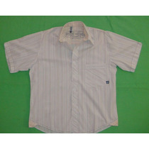 Camisa Over The Edge Talle M Microcentro Adolescente Hombre