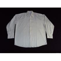 Camisa Yves Saint Laurent Mangas Largas Rayada Talle 38