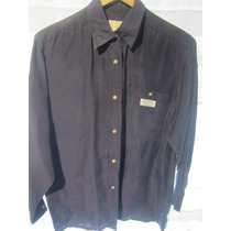 Camisa 100% Seda. Large. Usa Express