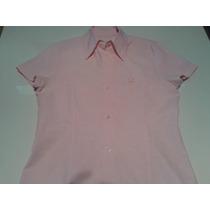 Camisa Blusa Entallada Tela Oxford Talle L