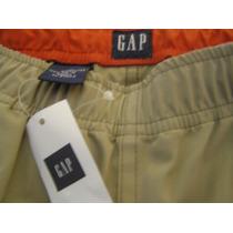 Pantalon Gap Eeuu Mujer Convertible En Bermuda Talle M