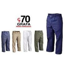 Pantalon De Algodon Grafa 70