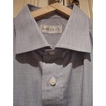 Camisa Celeste P/ Traje - Marca Barneys - Talle 42