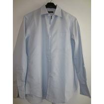 Camisa Yves Saint Laurent Color Celeste Talle S