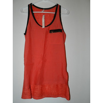 Camisa Sin Mangas/musculosa, Combinación De Telas... Ver!!!!