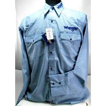 Camisa De Rodeo Western Bordada Talles M - L - Xl