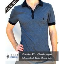 Chombas Hombre. Remera Polo. Nueva Coleccion Forever Polo.