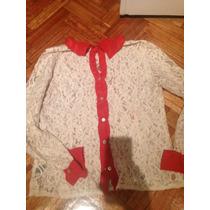 Camisa De Encaje Lupe