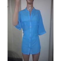 Camisas De Gasa Mangas Cortas T M A Xxxl - Liquidacion $ 300