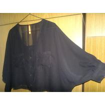 Blusa Camisola De Gasa-tiramissu -espectacular Modelo-amplio