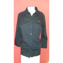 Camisa Columbia Negra. Talle S