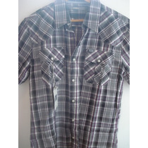 Camisa Ufo Escocesa 100% Original Super Rebajada!! Talle S