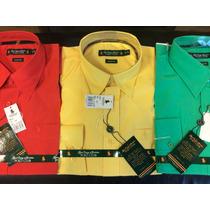 Camisa Hombre Polo Club Manga Larga Varios Talles Y Colores