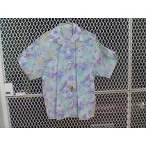 Camisas Floreadas Dama -m/corta -lote De 22 Unid-
