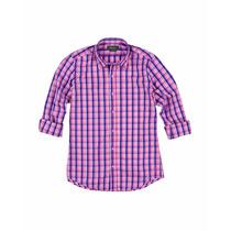 Camisa Stark Escocesa Manga Larga Bolivia Hombre