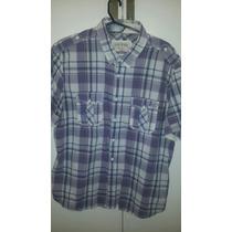 Camisa Guess M/c - Talle Xl - 1 Solo Uso, Como Nueva !!