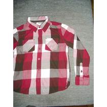 Camisa Importada Sonoma Abrigo 100 X 100 Abrigo Talle 7