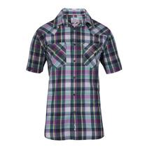 Camisa Wrangler New Western M/c Hombre (05412217176201)